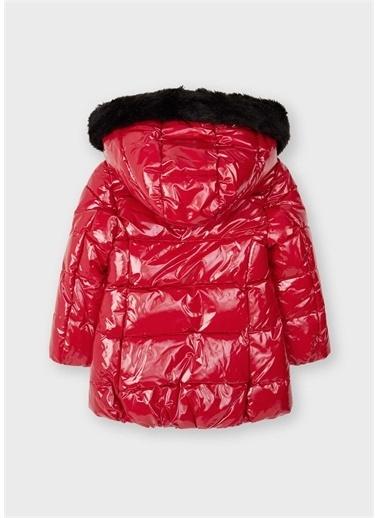 Mayoral Mayoral Kız Çocuk Parlak Kışlık Mont Kırmızı